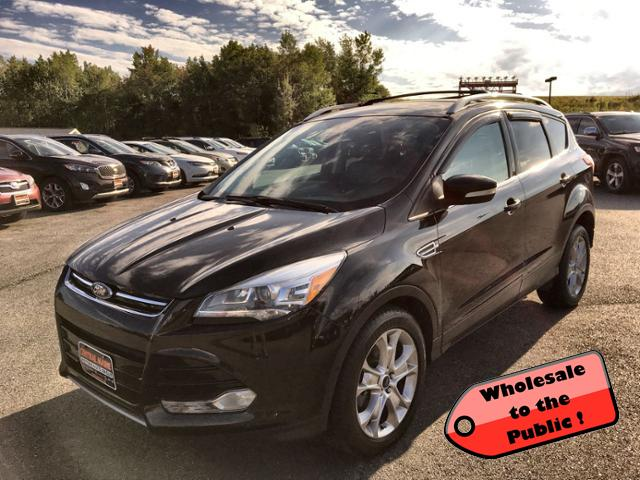Central Maine Motors >> Pre Owned 2014 Ford Escape 4wd 4dr Titanium 4wd