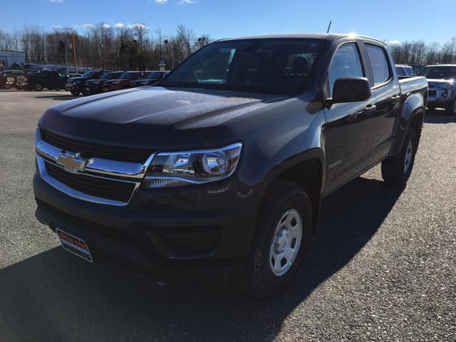 New 2019 Chevrolet Colorado 4WD Crew Cab 128.3 Work Truck