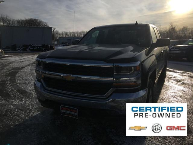 Certified Pre-Owned 2018 Chevrolet Silverado 1500 4WD Double Cab 143.5 LT w/1LT