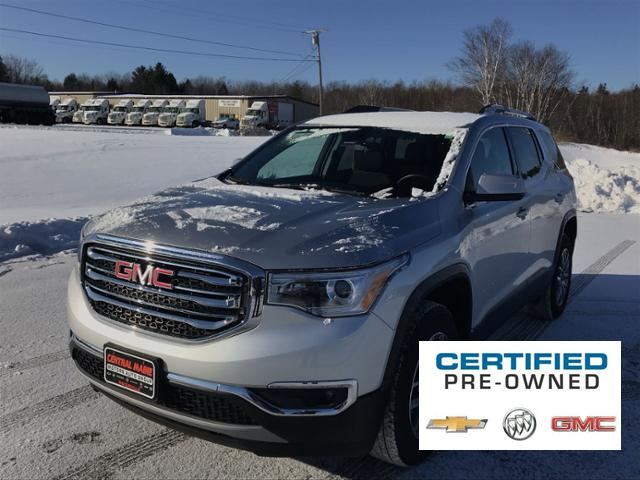 Central Maine Motors >> Certified Pre Owned 2019 Gmc Acadia Awd 4dr Sle W Sle 2 Awd