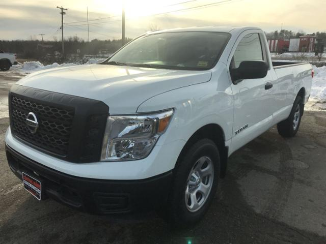Pre-Owned 2017 Nissan Titan 4x4 Single Cab S