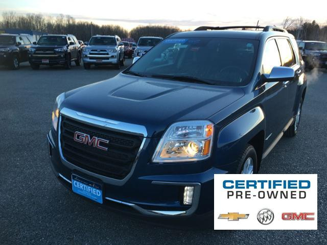 Certified Pre-Owned 2016 GMC Terrain AWD 4dr SLE w/SLE-2
