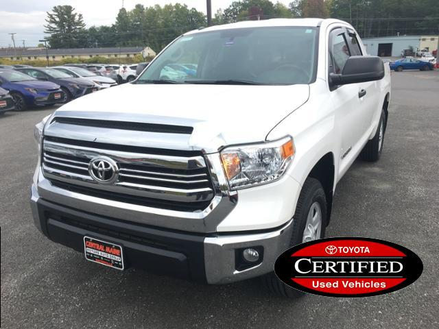 Central Maine Motors >> Pre Owned 2016 Toyota Tundra 4wd Double Cab 4 6l V8 6 Spd At Sr5 4wd