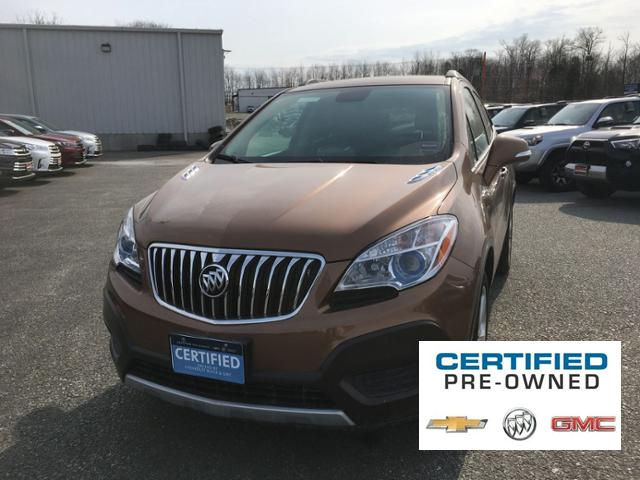 Certified Pre Owned 2016 Buick Encore Awd 4dr