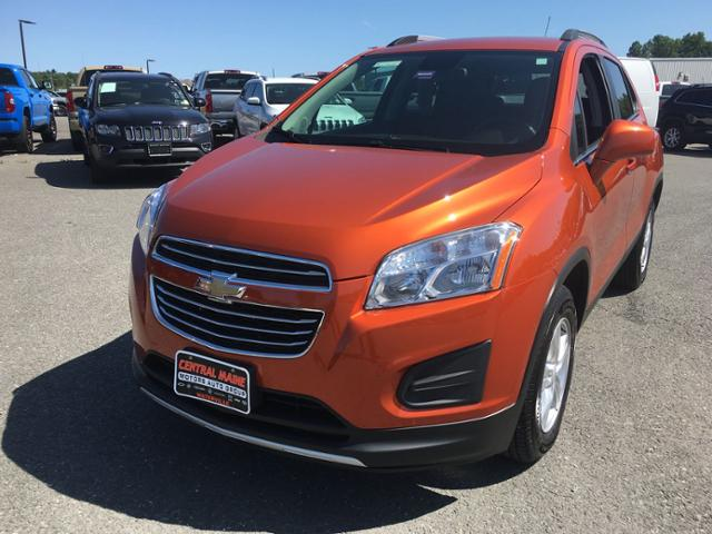 Central Maine Motors >> Pre Owned 2016 Chevrolet Trax Awd 4dr Lt Awd