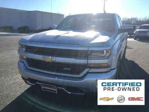 Certified Pre-Owned 2016 Chevrolet Silverado 1500 4WD Double Cab 143.5 LT w/2LT