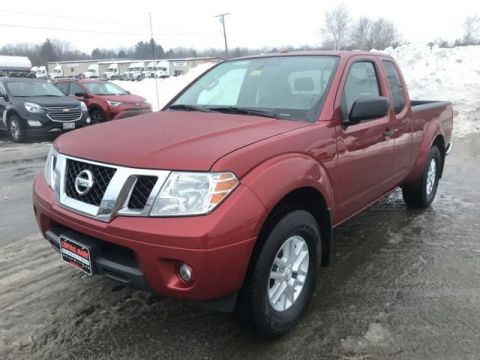 Pre-Owned 2018 Nissan Frontier King Cab 4x4 SV V6 Auto