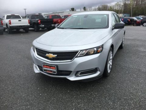 Pre-Owned 2017 Chevrolet Impala 4dr Sdn LS w/1LS