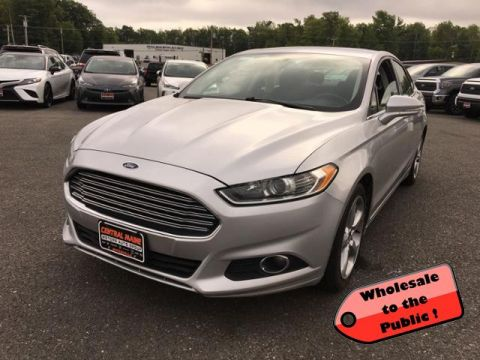 Pre-Owned 2015 Ford Fusion 4dr Sdn SE AWD