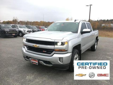 Certified Pre-Owned 2017 Chevrolet Silverado 1500 4WD Crew Cab 143.5 LT w/2LT